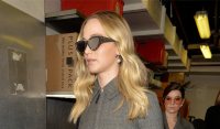Jennifer Lawrence Looking Chic at Paris Fashion Week
