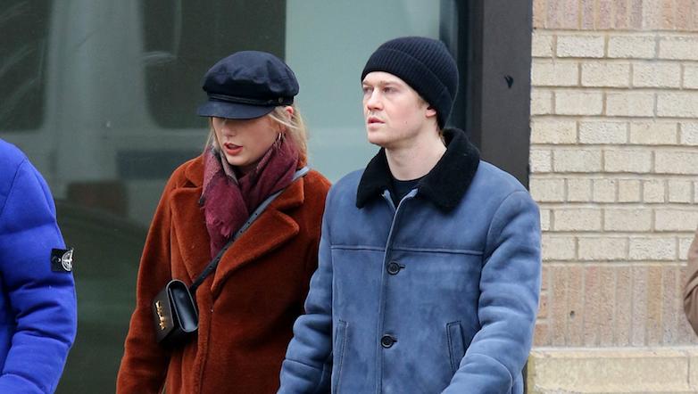 Taylor Swift and Joe Alwyn walking in NYC