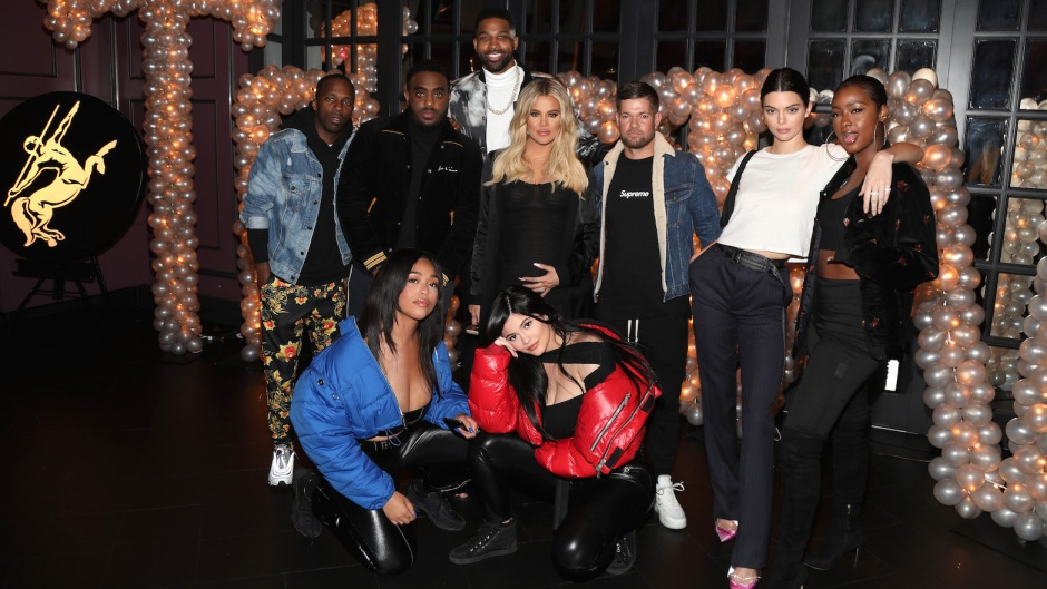 Khloe and Tristan attended Jordyn's birthday