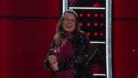 Kim Cherry on The Voice
