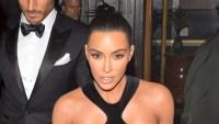 Kim Kardashian Cut Out Dress