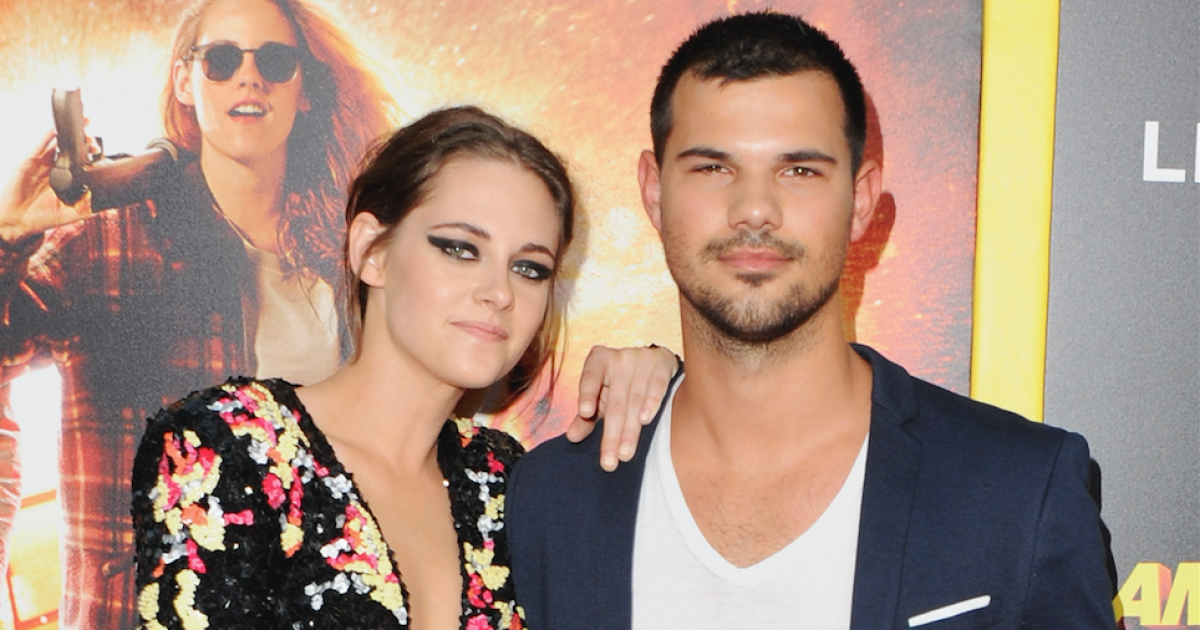 Kristen Stewart and Taylor Lautner Reunite for His ...