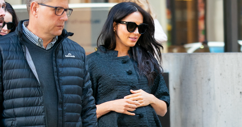 #PregnancyStyle: Meghan Markle Slays in All Black at Her NYC Baby Shower