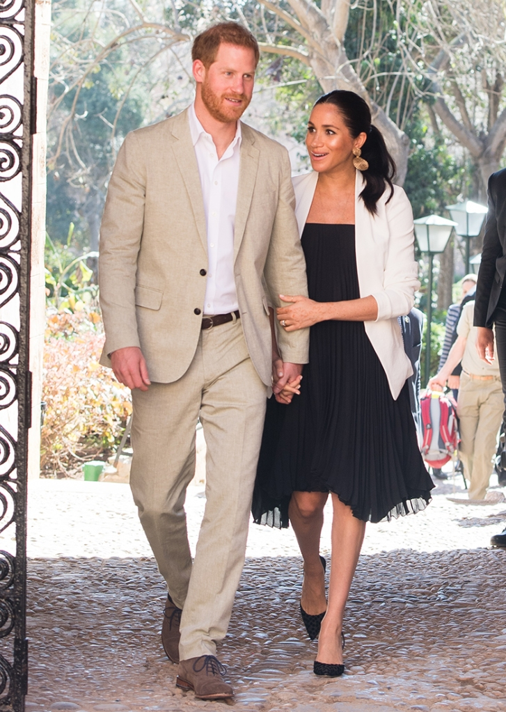 Meghan Markle Is Glowing During Morocco Trip Amid Baby Shower Festivities