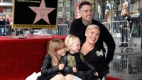 pink at hollywood walk of fame