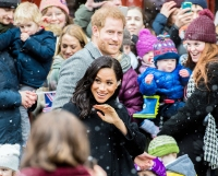 Prince Harry and Meghan Markle Walking Hand in Hand in the Snow Will Give You All The Winter Feels