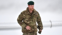 Prince Harry Visits Exercise Clockwrok