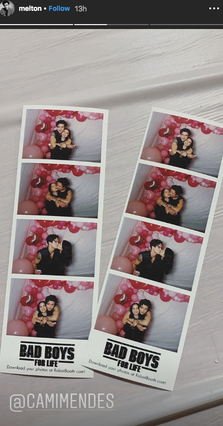 Riverdale Charles Melton Camila Mendes Bad Boys for life valentines day party