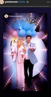 Gretchen Rossi Slade Smiley baby shower