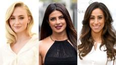 Sophie Turner, Priyanka Chopra, and Danielle Jonas