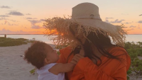 kim kardashian and kris jenner wish stormi webster a happy first birthday on instagram