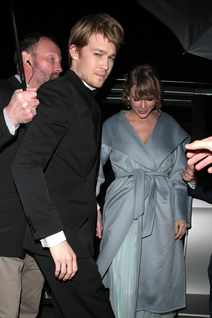 Taylor Swift and Joe Alwyn at the BAFTAs