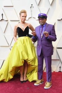 Tonya Lewis Lee and Director Spike Lee