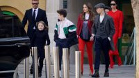 beckhams london fashion week victoria beckham david beckham brooklyn beckham