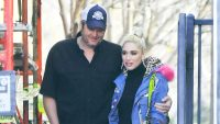 blake shelton gwen stefani los angeles
