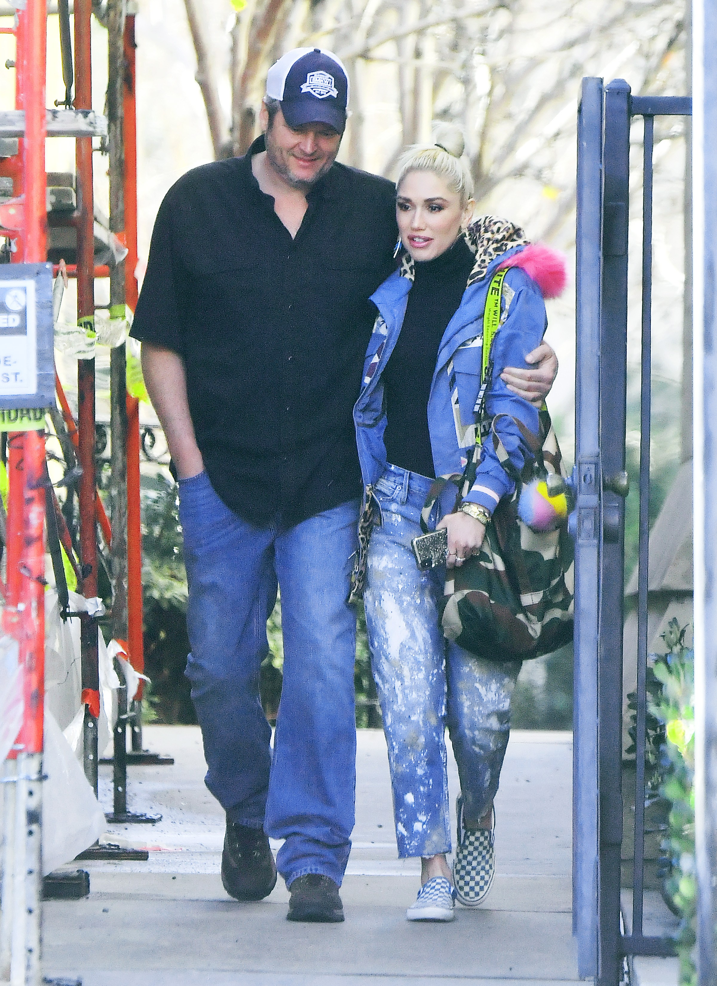 Blake Shelton and Gwen Stefani Look in Love While Out in L.A.