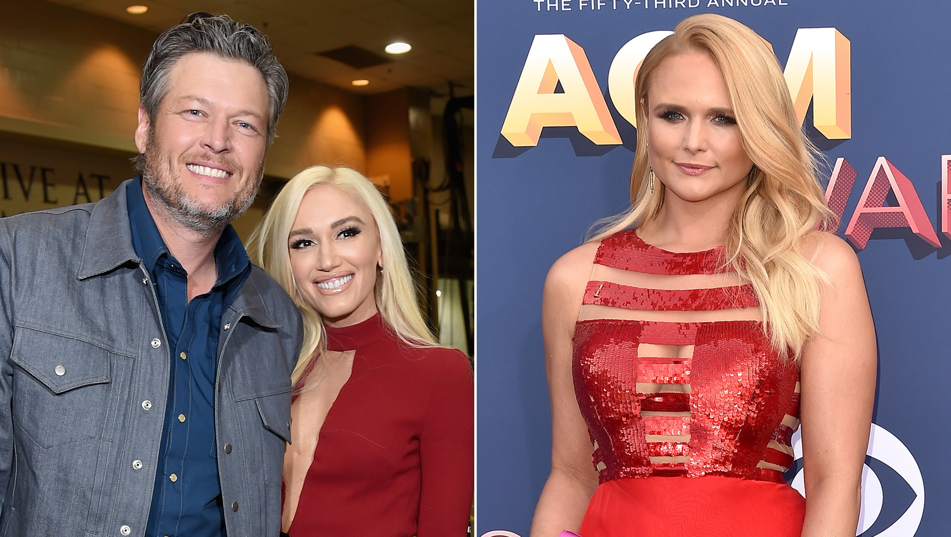 how blake and gwen reacted to miranda's marriage