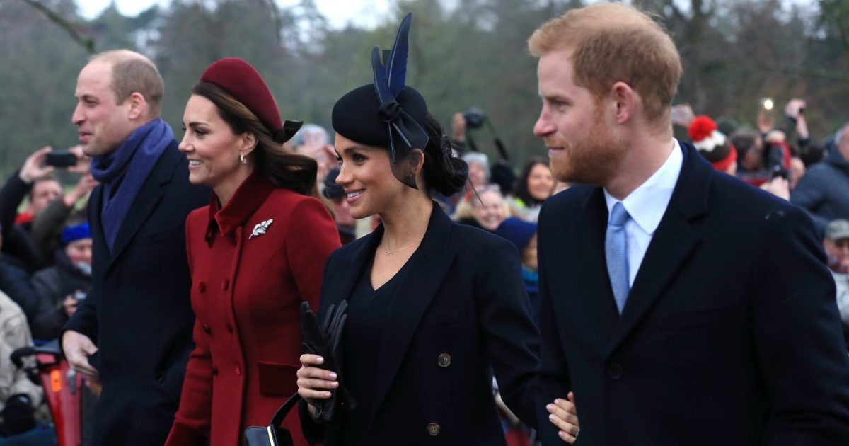 Report: Report: Prince William and Prince Harry to Split Royal Courts Before Meghan Markle Gives Birth
