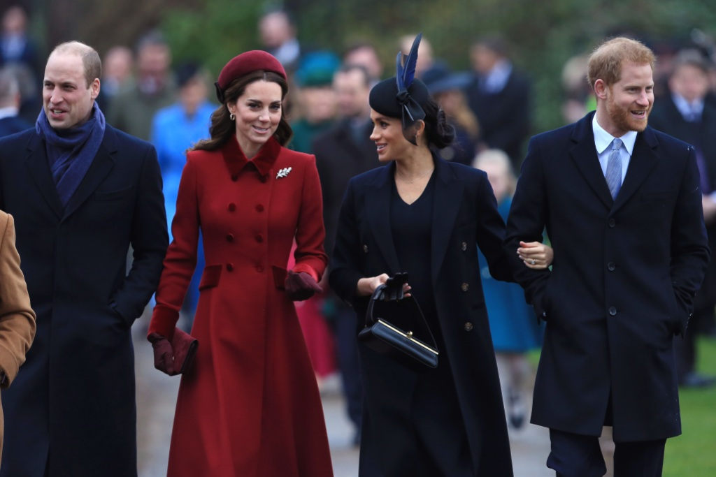 meghan markle prince harry kate middleton prince william split royal courts household