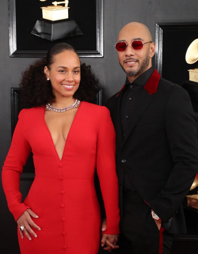 Alicia Keys and Swizz Beatz Grammys 2019