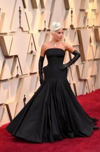 Lady Gaga 2019 Oscars Dress
