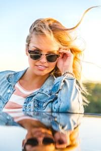 Bachelorette Hannah Brown modeling pics