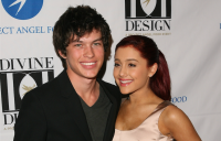 Graham Phillips posing with Ariana Grande in 2011.