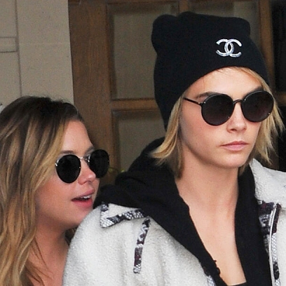 Cara Delevingne and Girlfriend Ashley Benson Spotted Looking Chic As All Heck in Paris