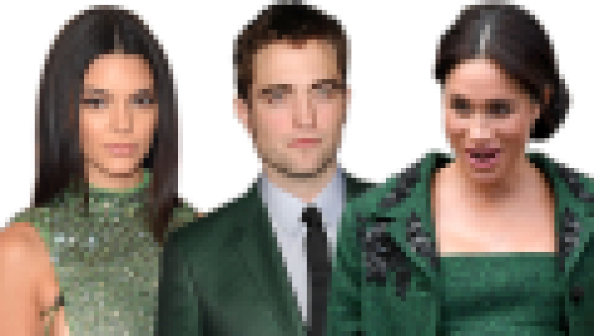 Celebs who look good in green
