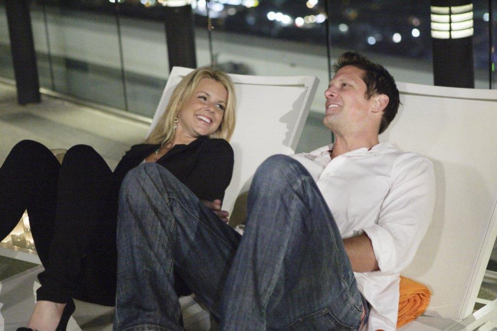 "Ali Fedotowsky and Chris Lambton ABC's ""The Bachelorette"" - Season Six"