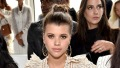 Sofia Richie shows off toned abs while modeling workout clothes