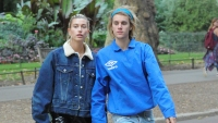 Hailey Baldwin shares photos of her favorite kind of date night with justin bieber