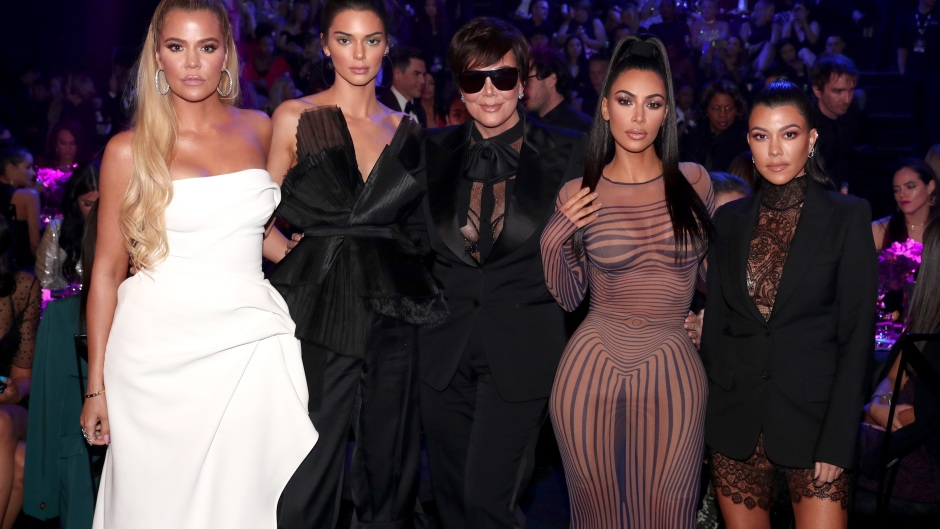 the kardashian family together at an event