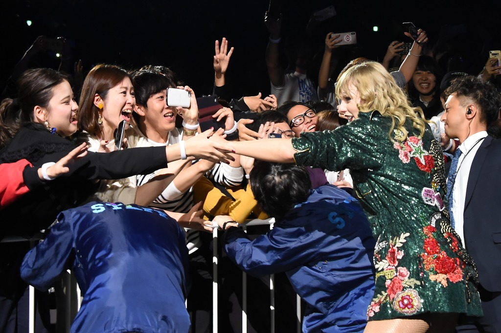 Taylor Swift reputation tour with fans