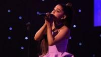 Ariana Grande performance at the iheartradio music awards