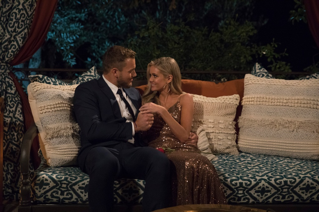 Hannah G and Colton Underwood