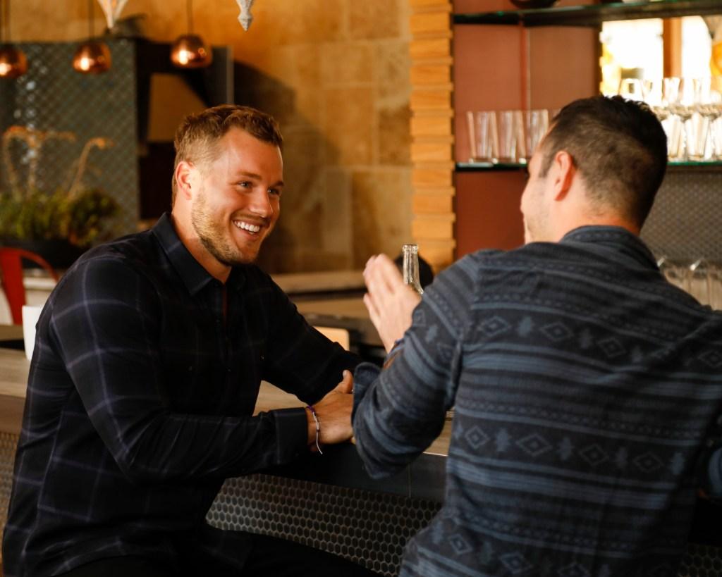 "Ben Higgins talking with Colton Underwood ABC's ""The Bachelor"" - Season 23"