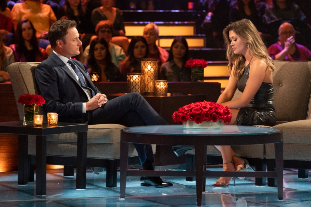 Caelynn Chris Harrison the bachelor women tell all