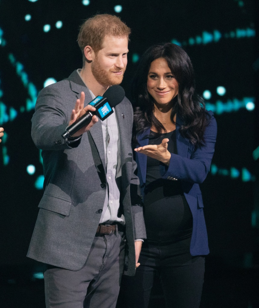 Meghan Markle Prince Harry WE Day UK 2019 - London