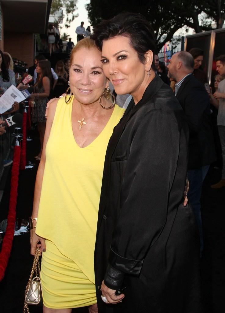 Kris Jenner Kathie Lee Gifford friendship