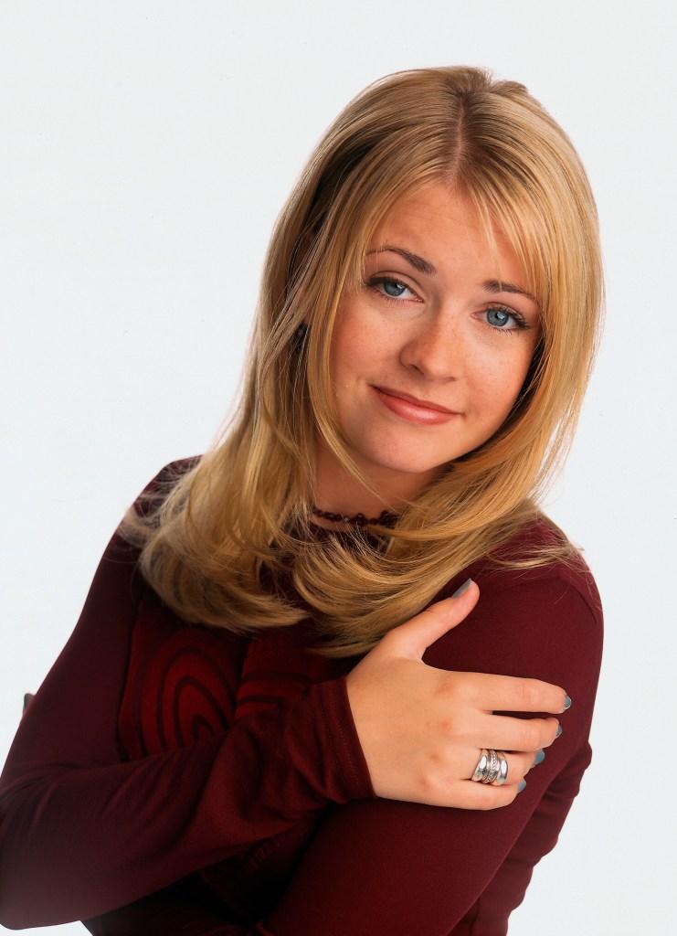 Melissa Joan Hart when she played sabrina