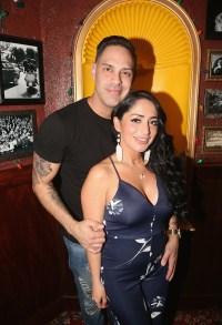 Chris Larangeira and Angelina Pivarnick