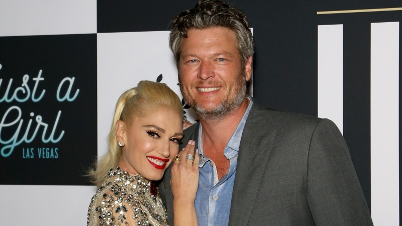 OMGSomeone Photoshopped Gwen Stefani and Blake Shelton Together As Teens and It's Literally Too Cute