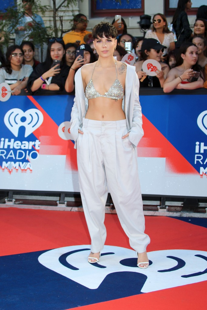 Halsey at the 2018 iHeartMusic Awards