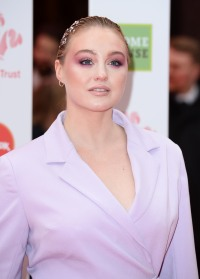 Iskra Lawrence attends The Prince's Trust, TKMaxx and Homesense Awards at The Palladium on March 13, 2019 in London, England.