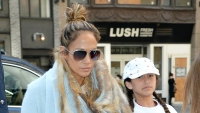 Jennifer Lopez Makes a Rare Appearance With Daughter Emme in NYC