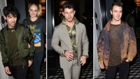 Jonas Brothers and Sophie Turner have a night out in West Hollywood