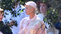 Katy Perry and Orlando Bloom attend Kanye West's Church Service.