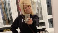 Theresa Caputo taking a mirror selfie on Instagram.