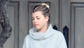 Sofia Richie wears grey sweats while out and about